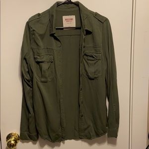 Mossimo Long Sleeve Button up